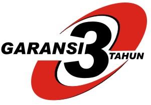 GARANSI BARU TOSSA, 3 TAHUN!!